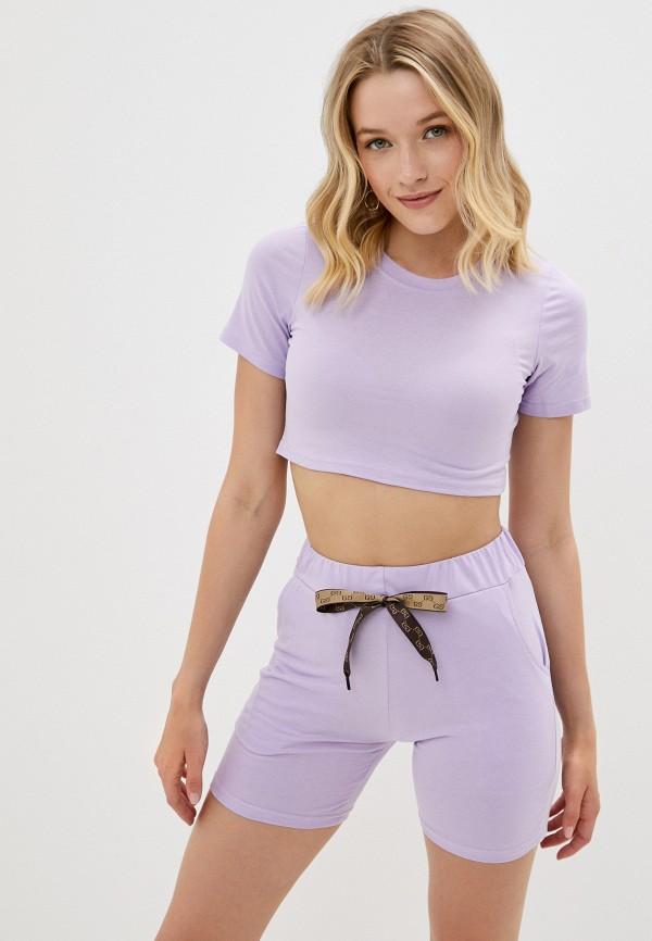 женский спортивный костюм fadjo, фиолетовый