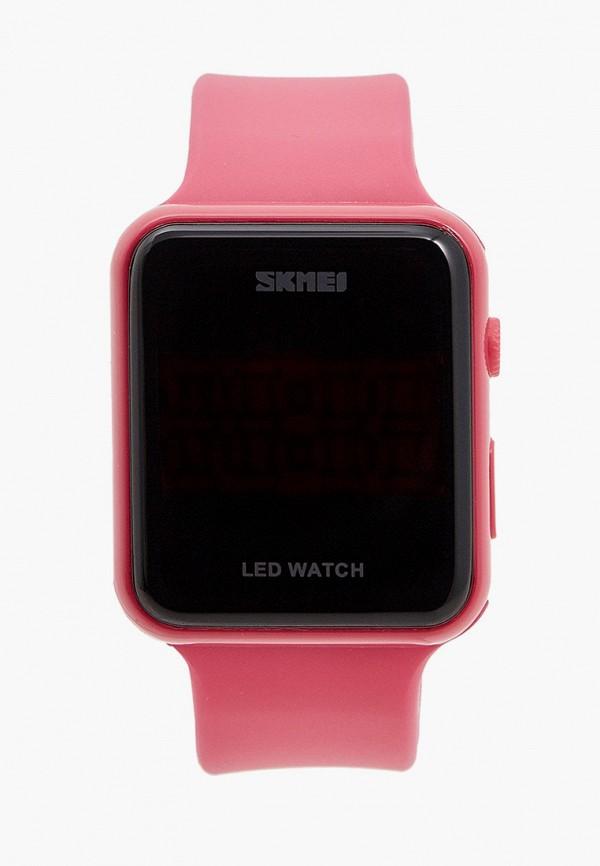 женские часы skmei, розовые
