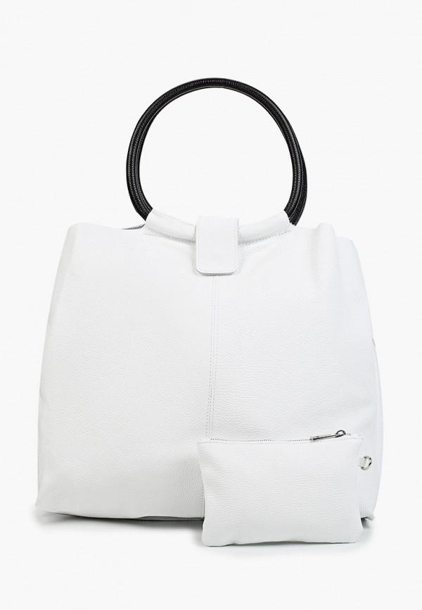 женский кошелёк-шоперы alessandra del biondo, белый