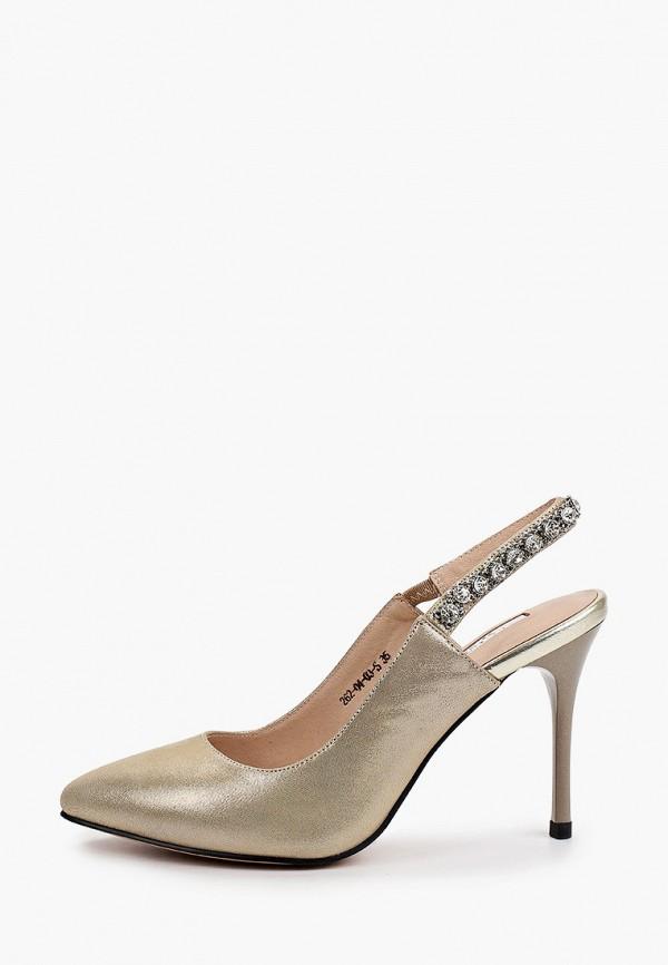 женские туфли dino ricci, золотые