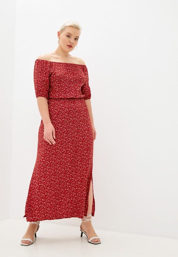 женское платье banzo, красное
