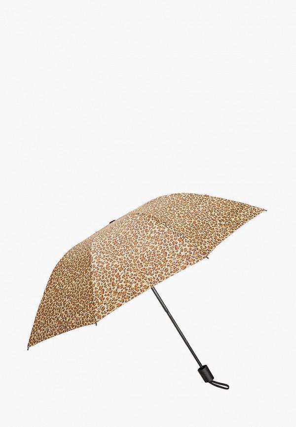 женский складные зонт mellizos, бежевый