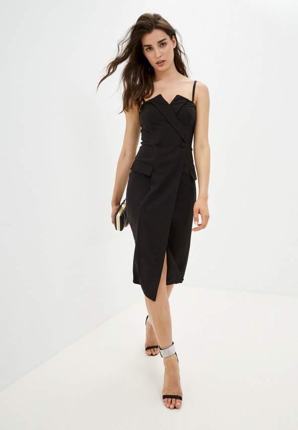 женское платье-пиджаки love republic, черное