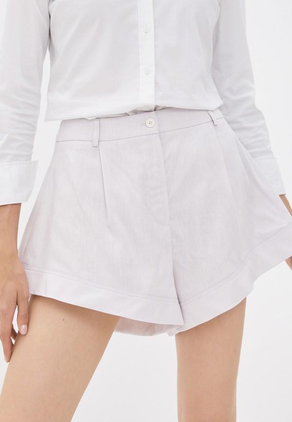 женские повседневные шорты top top, фиолетовые