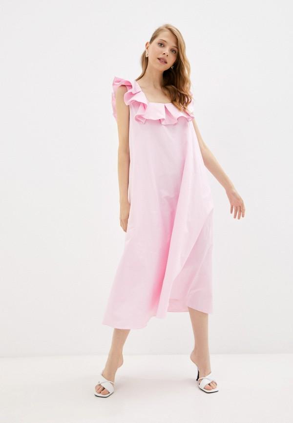 женский сарафан top top, розовый