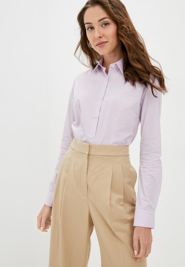 женская рубашка с длинным рукавом bawer, фиолетовая