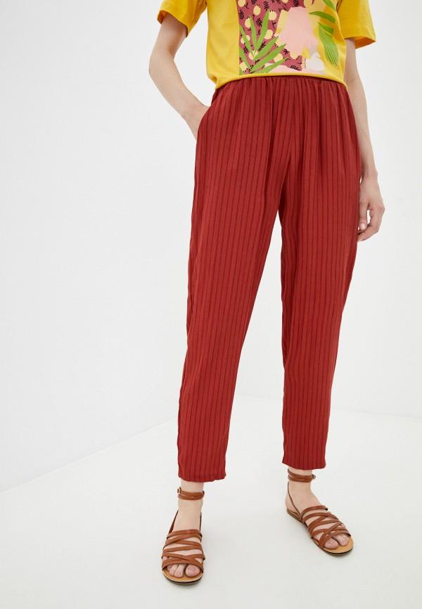 женские брюки джоггеры mark formelle, оранжевые