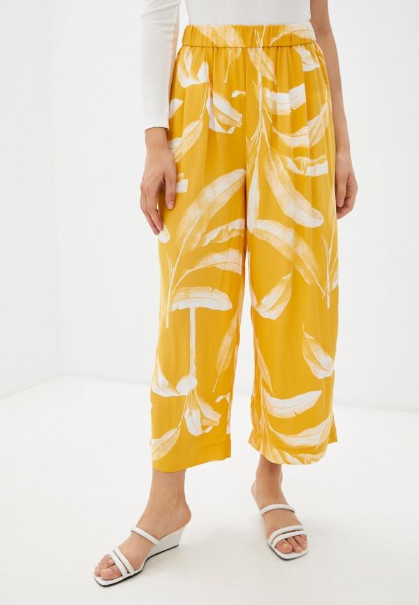 женские повседневные брюки mark formelle, желтые