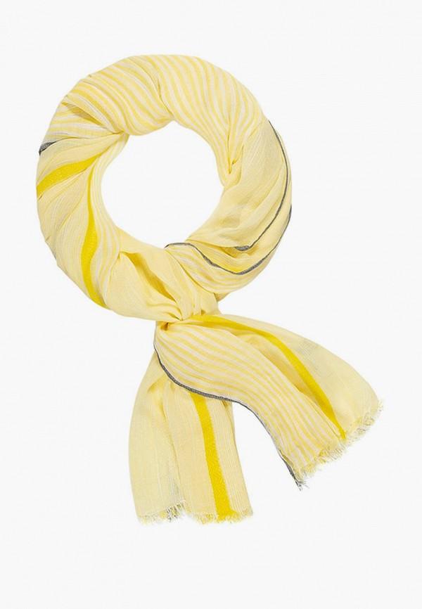 женский палантин mellizos, желтый
