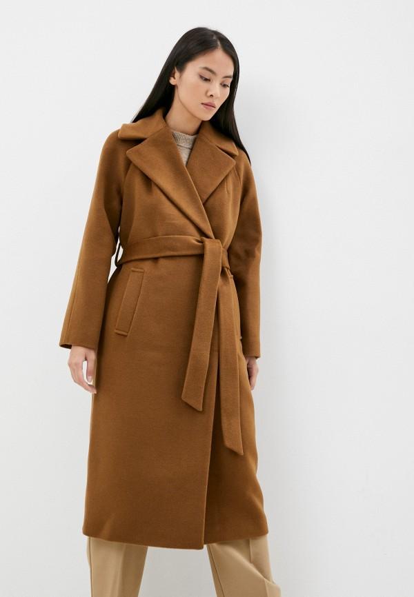 женское пальто vivaldi, коричневое