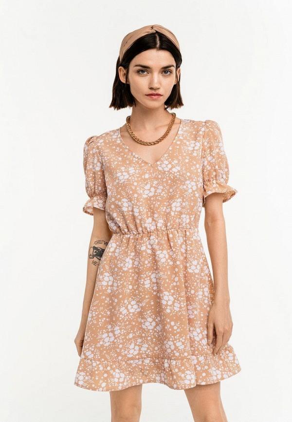 Платье Befree бежевого цвета