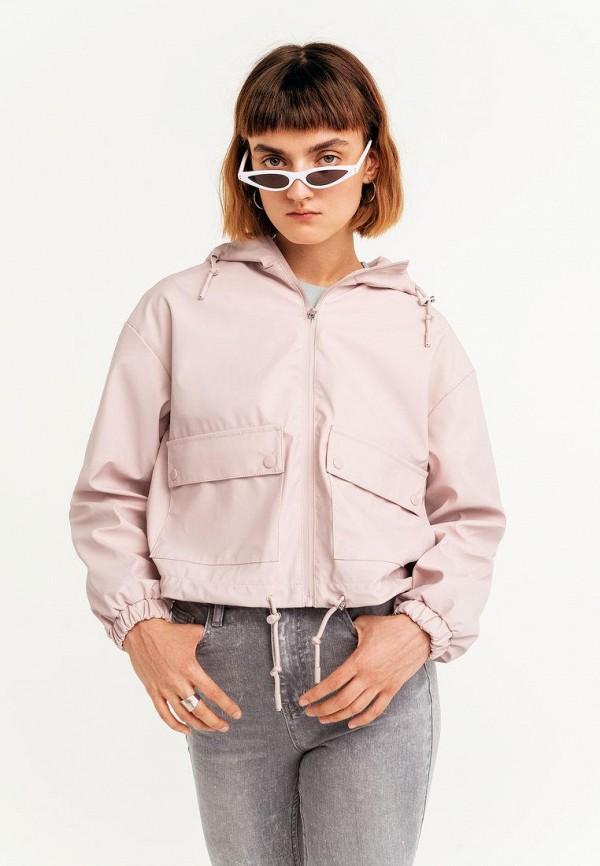 женская легкие куртка befree, розовая