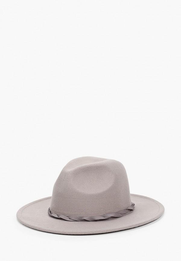 женская шляпа befree, серая