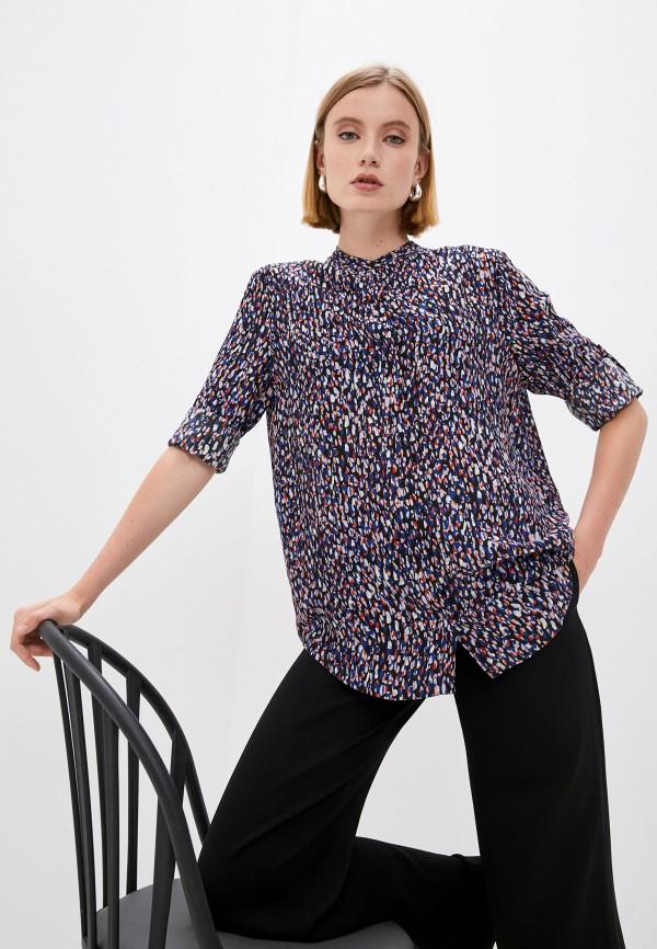 женская блузка с длинным рукавом boss, разноцветная
