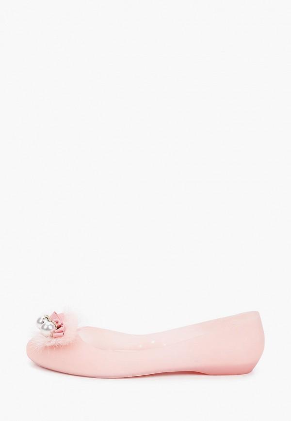 женские балетки king boots, розовые