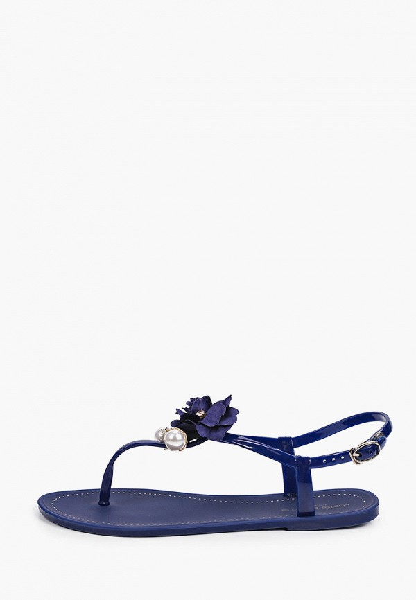 женские сандалии king boots, синие