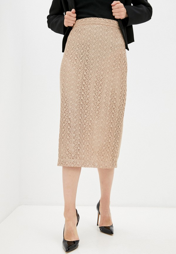 женская узкие юбка ummami, золотая