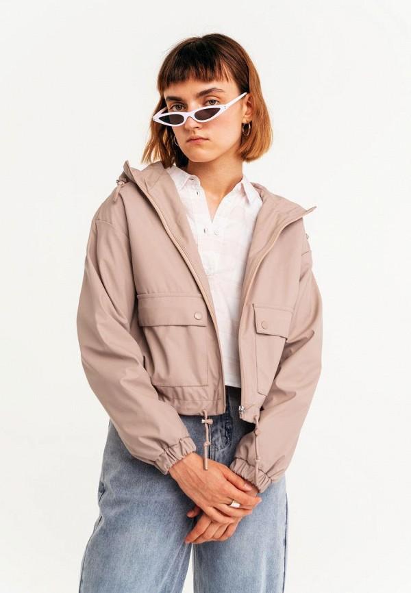 женская легкие куртка befree, бежевая
