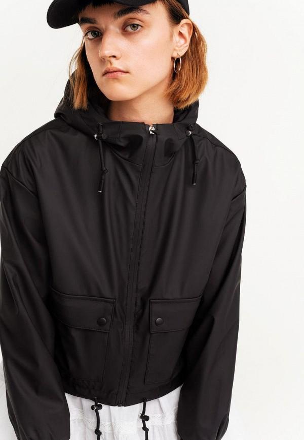 женская легкие куртка befree, черная