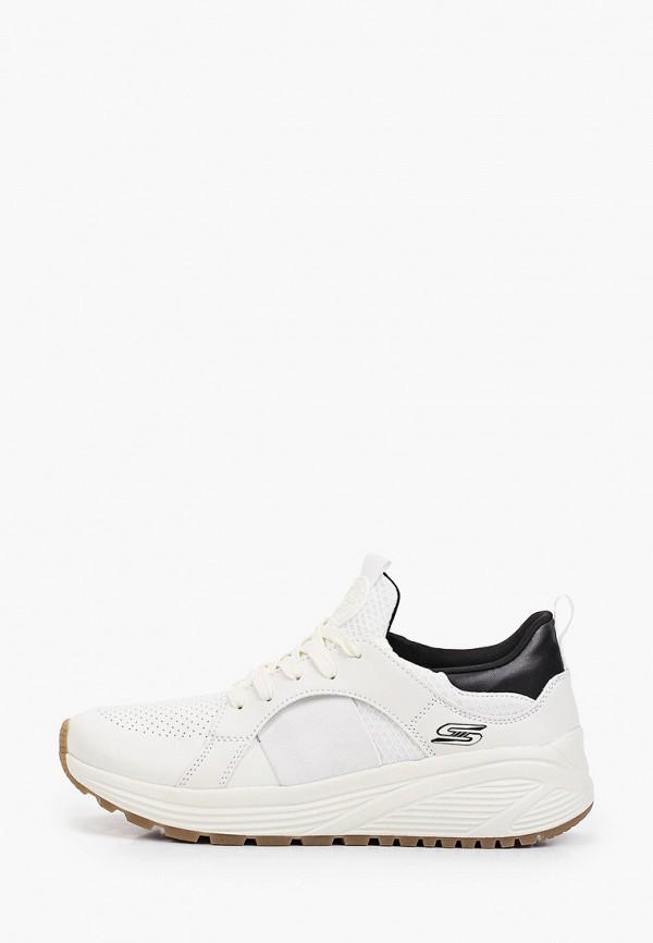 женские кроссовки skechers, белые