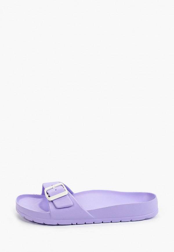 женские сланцы ayo, фиолетовые
