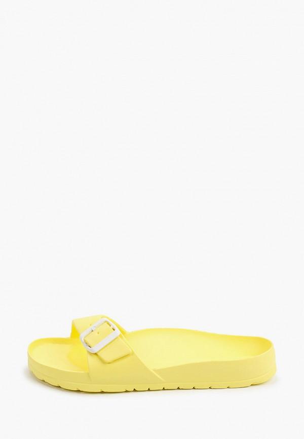 женские сланцы ayo, желтые
