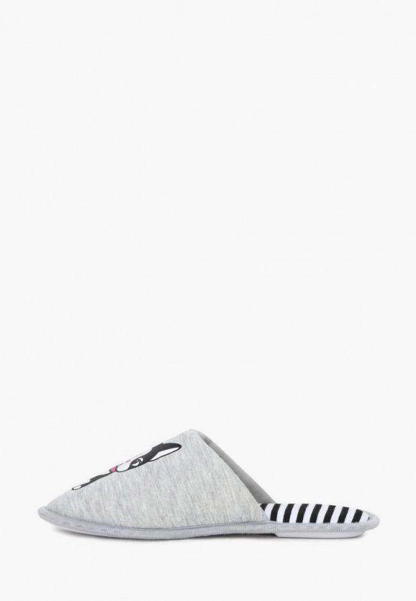 женские тапочки t.taccardi, серые