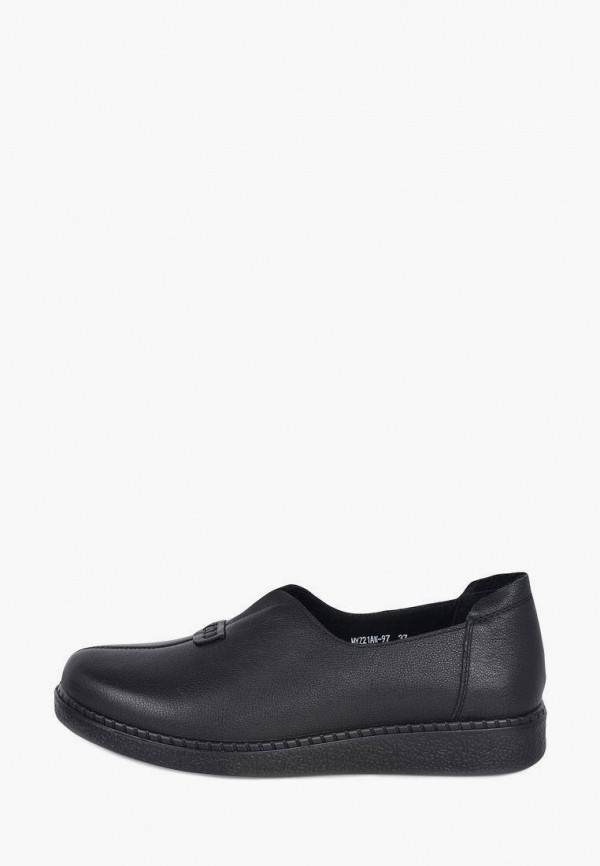 женские туфли с закрытым носом kari, черные