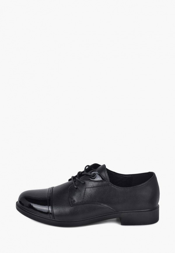 женские ботинки-оксфорды kari, черные