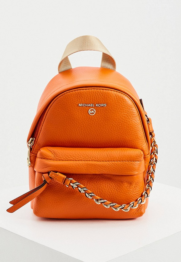 женский рюкзак michael kors, оранжевый