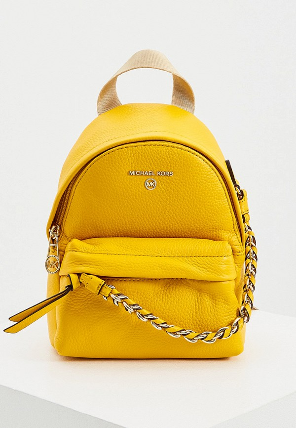 женский рюкзак michael kors, желтый