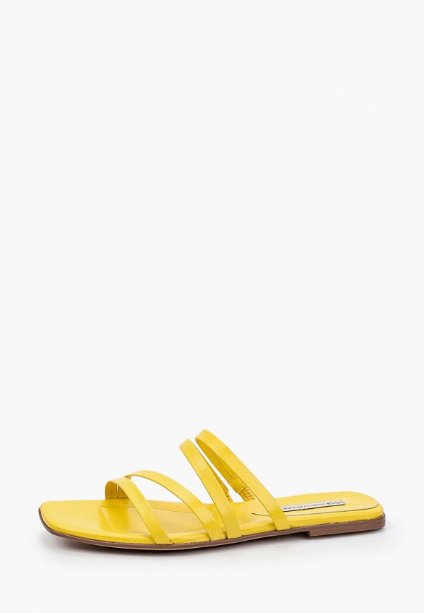 женское сабо marco bonne', желтое