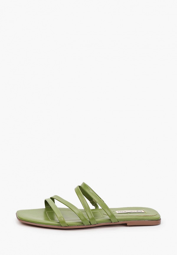женское сабо marco bonne', зеленое