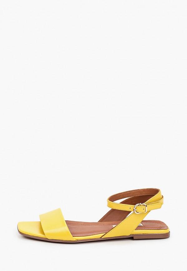 женские сандалии marco bonne', желтые