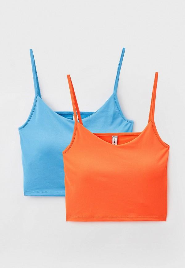 женский спортивные топ defacto, разноцветный