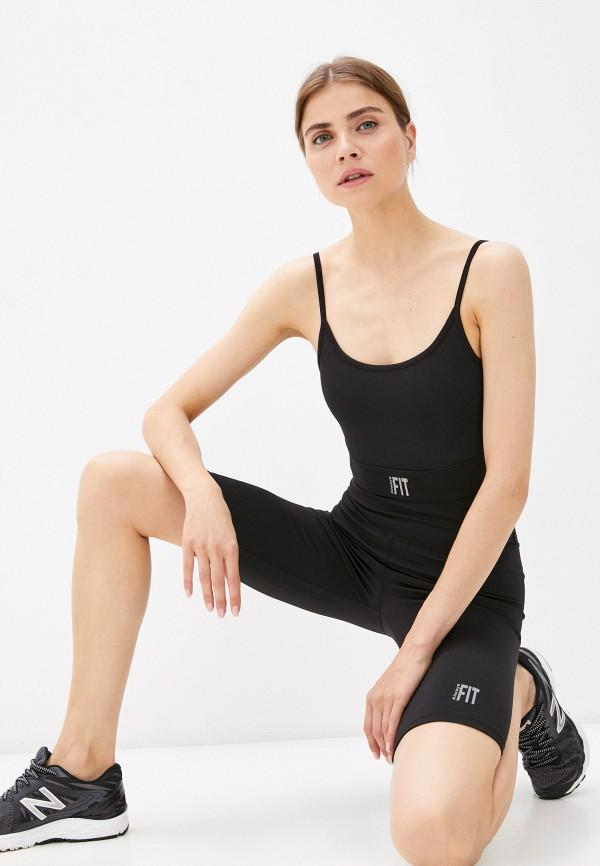 женский спортивный костюм defacto, черный