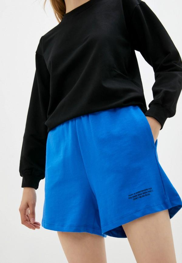 женские спортивные шорты defacto, синие
