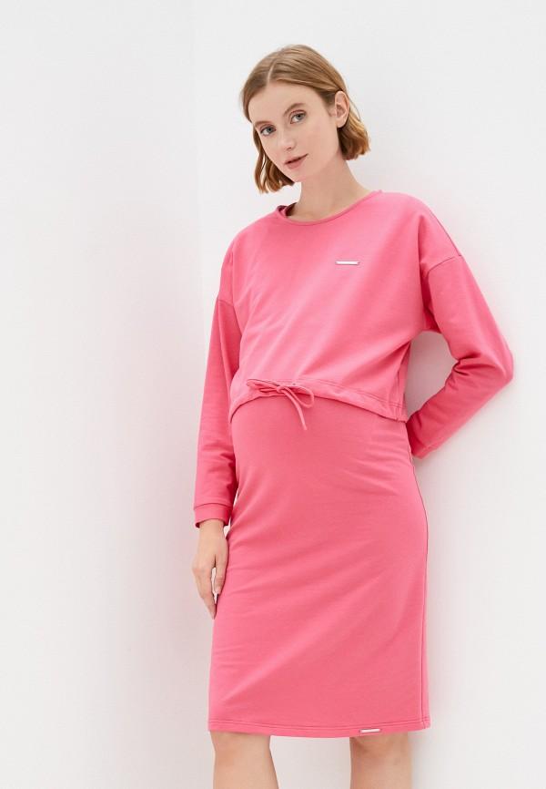 женский джемпер fest, розовый