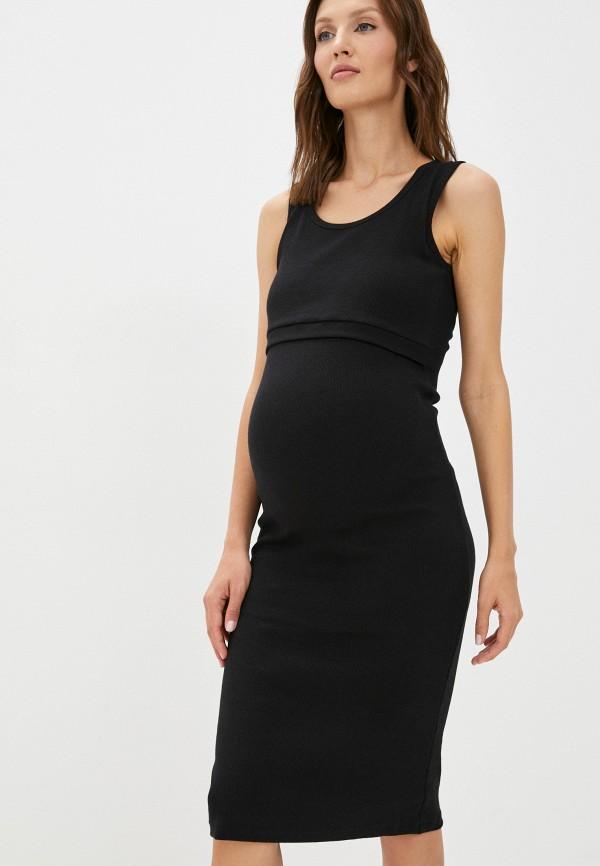 женское платье fest, черное