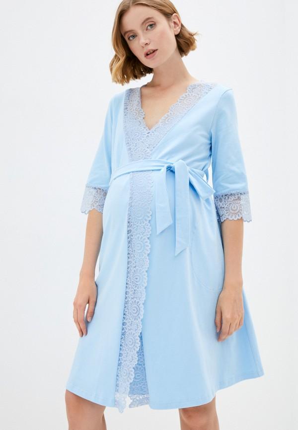 женская домашняя одежда fest, голубая