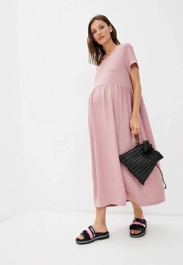 женское повседневные платье fest, розовое