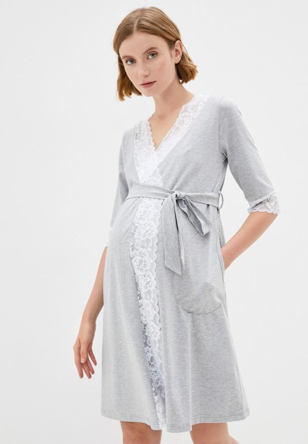 женская домашняя одежда fest, серая