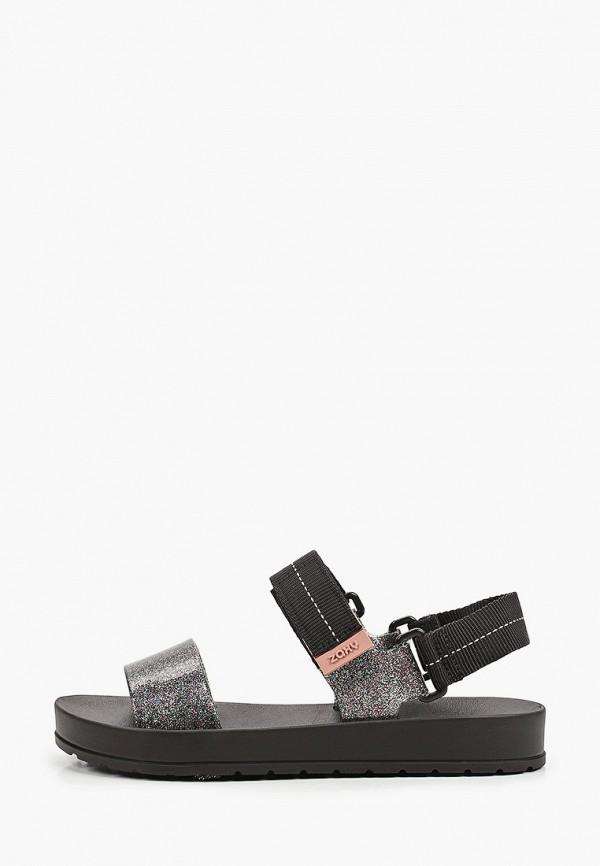 женские сандалии zaxy, серебряные