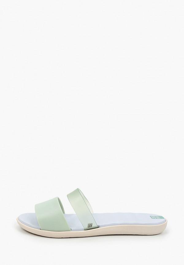 женские сланцы zaxy, зеленые