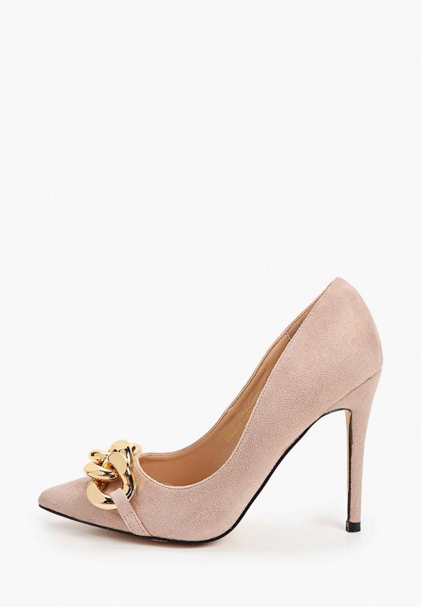 женские туфли-лодочки араз, бежевые