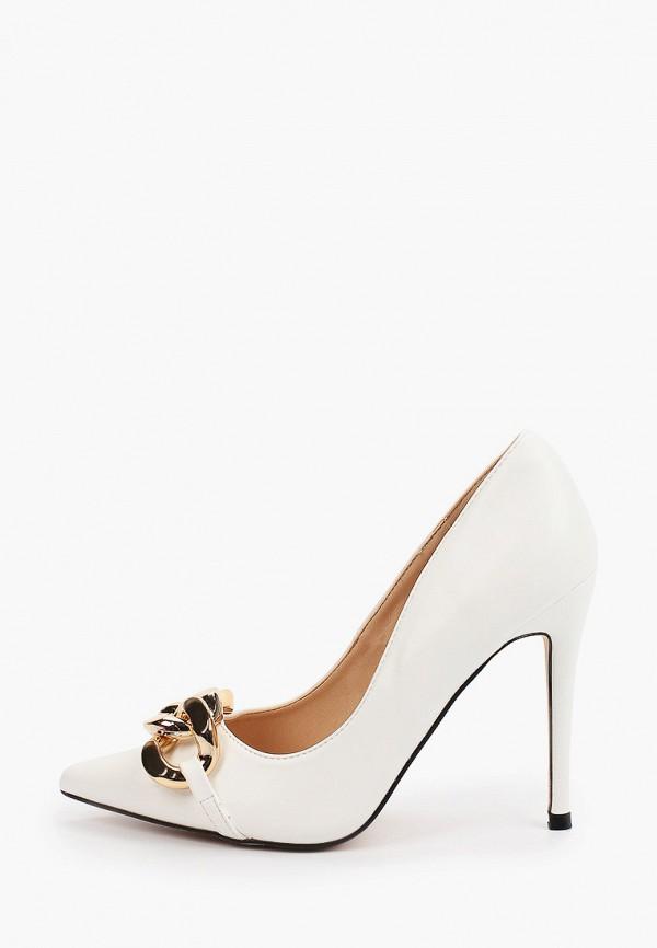 женские туфли-лодочки араз, белые