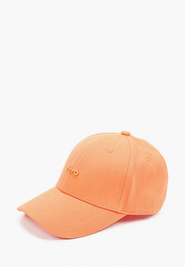 женская бейсболка euros style, оранжевая