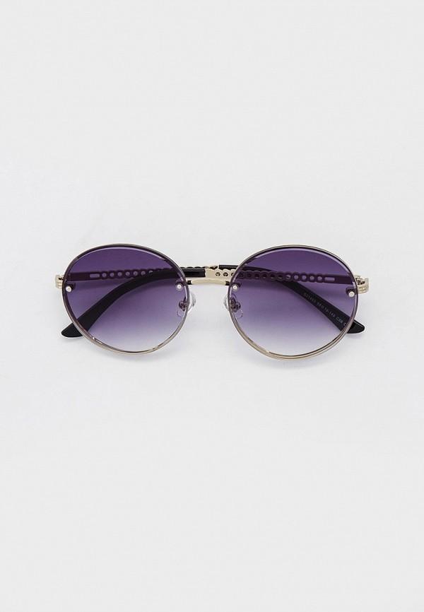 женские круглые солнцезащитные очки ruxara, серебряные