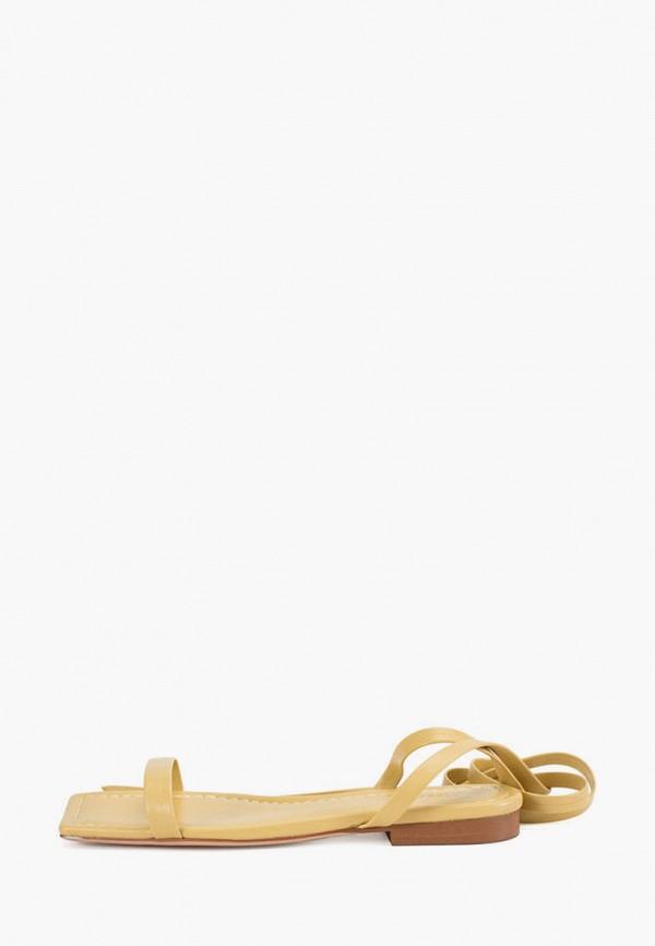 женские сандалии portal, желтые
