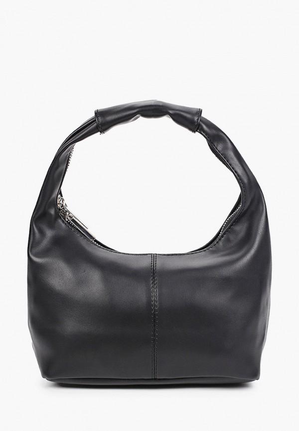 женская сумка с ручками befree, черная